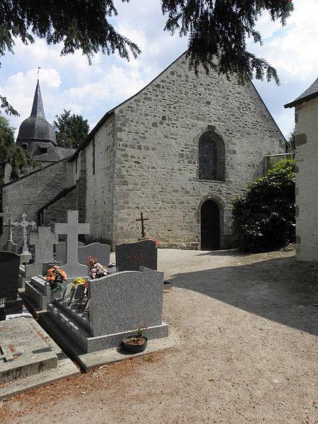 Chapelle Sainte-Croix à Josselin