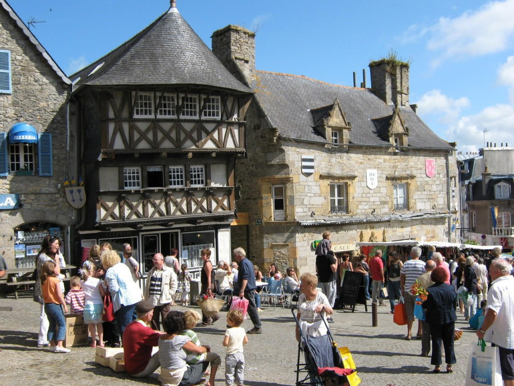 Le marché de Saint-Renan