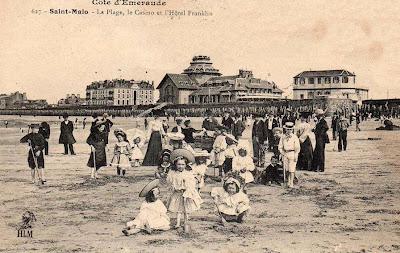 Carte postale ancienne de Saint-Malo