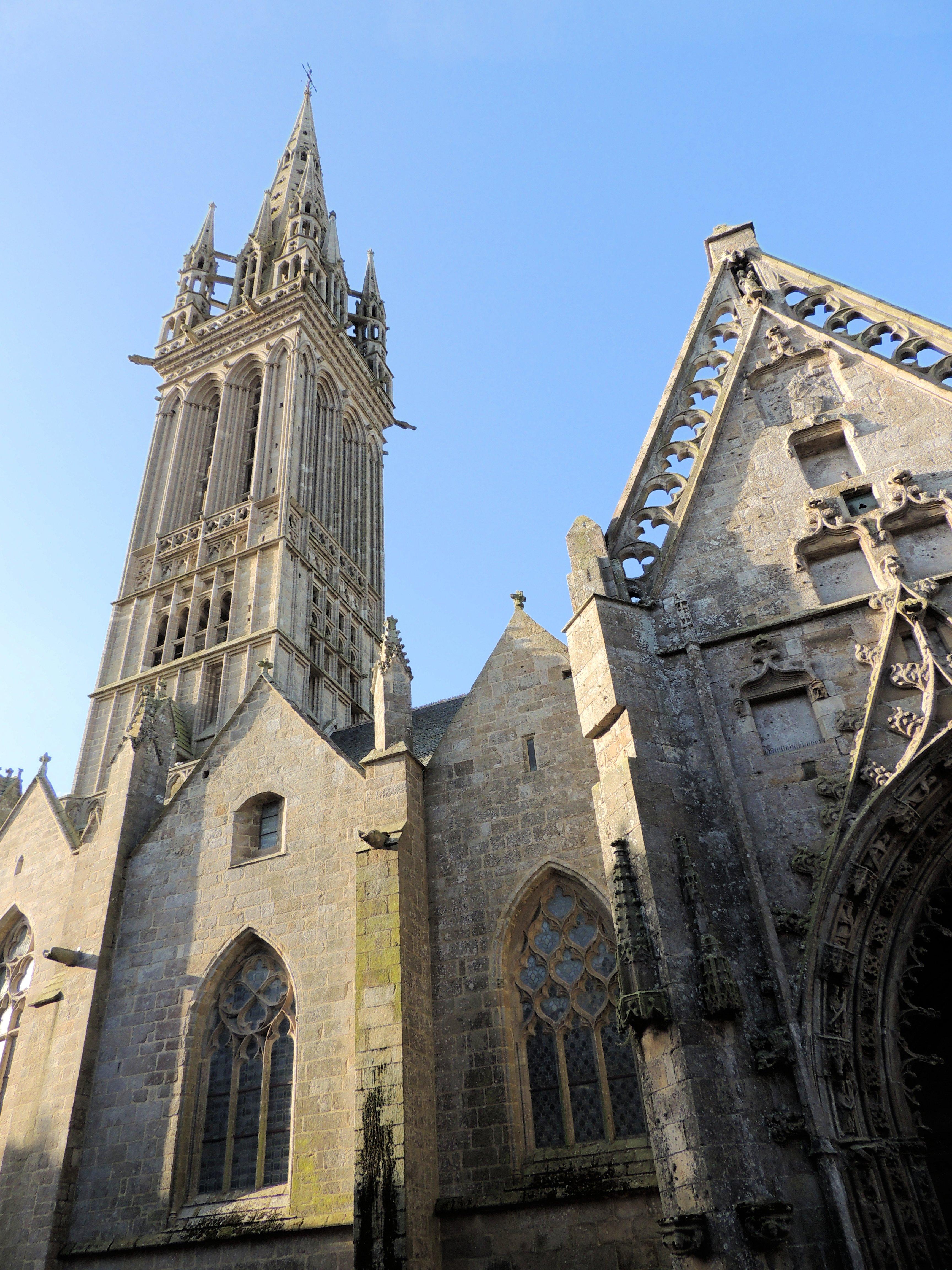 Façade Nord de Notre-Dame du Kreisker